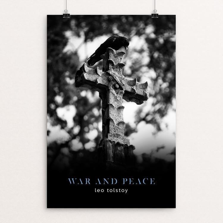 "War & Peace by Nick Fairbank 12"" by 18"" Print / Unframed Print Recovering the Classics"