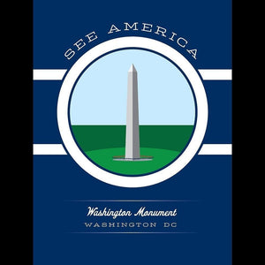 "Washington Monument by Brandon Kish 12"" by 16"" Print / Unframed Print See America"