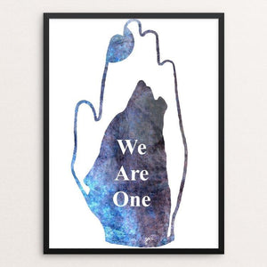 "We Are One by Jessica Cramblett 12"" by 16"" Print / Framed Print Join the Pack"