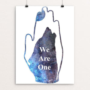 "We Are One by Jessica Cramblett 12"" by 16"" Print / Unframed Print Join the Pack"