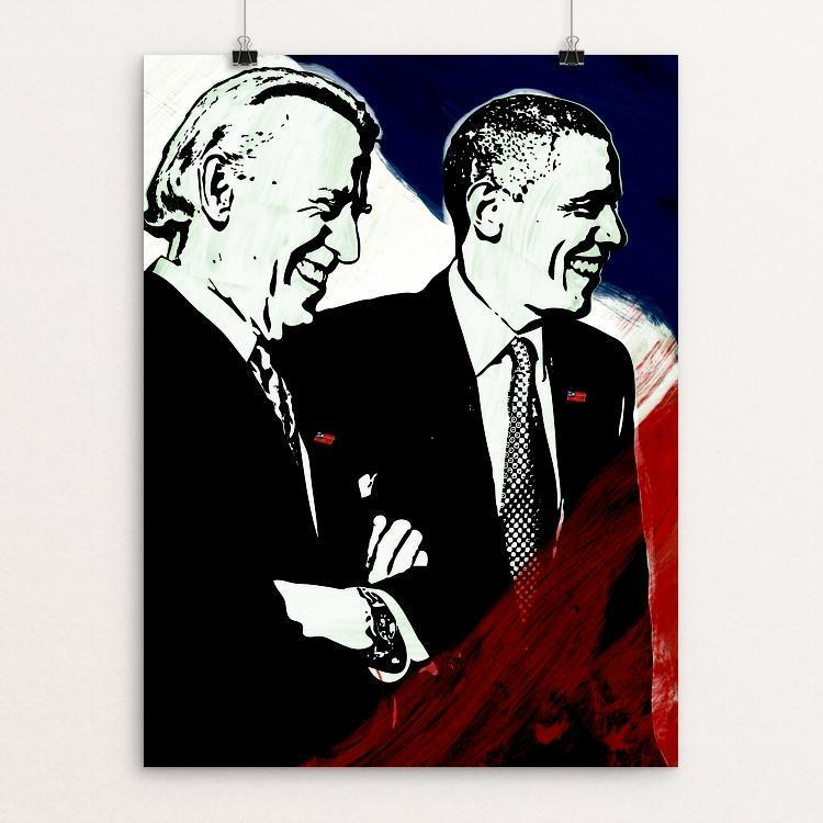 "We Believe by Mark Forton 12"" by 16"" Print / Unframed Print Design For Obama"
