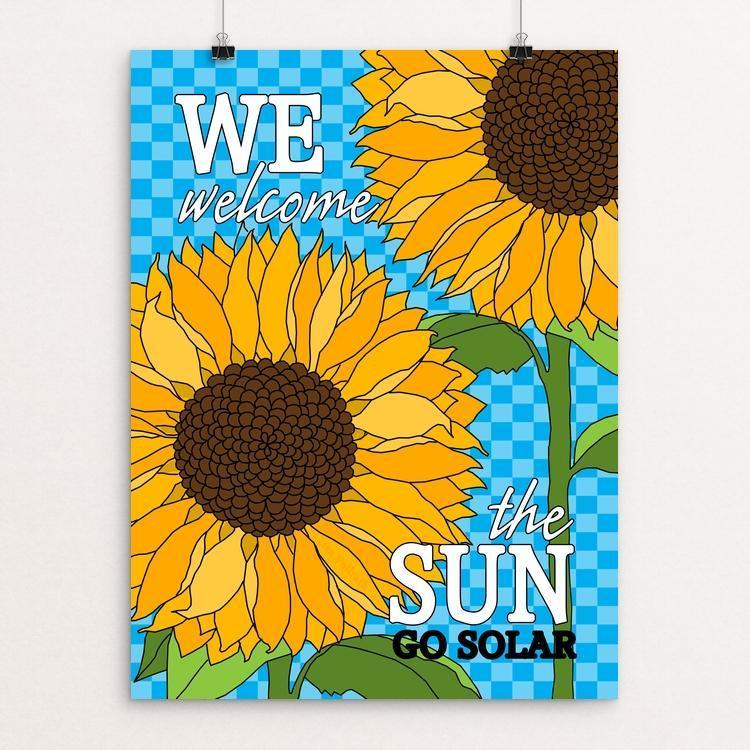 "We Welcome the Sun by Lisa Vollrath 12"" by 16"" Print / Unframed Print Creative Action Network"