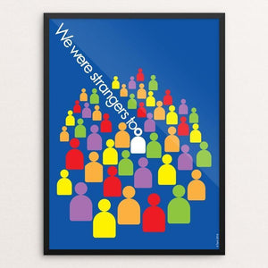 "We Were Strangers Too by Karl Tani 12"" by 16"" Print / Framed Print We Were Strangers Too"