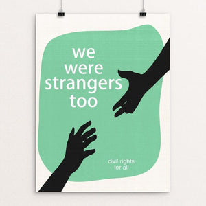 "We Were Strangers Too by Meredith Watson 12"" by 16"" Print / Unframed Print We Were Strangers Too"