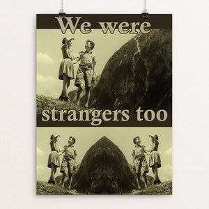 "We Were Strangers Too: Eva and Helmut by Sara Chang 12"" by 16"" Print / Unframed Print We Were Strangers Too"