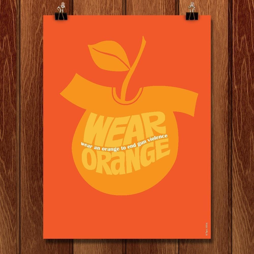 Wear an Orange by Karl Tani