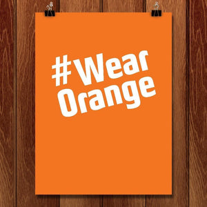 #wearOrange by Chris Lozos