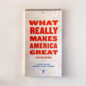 What REALLY Makes America Great 2019 Wall Calendar 9.5x17.25 inch Calendar What Makes America Great
