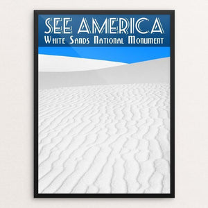 White Sands National Monument by Zack Frank