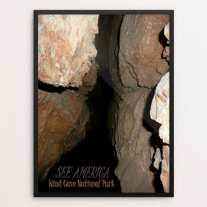 "Wind Cave National Park by Bryan Bromstrup 12"" by 16"" Print / Framed Print See America"
