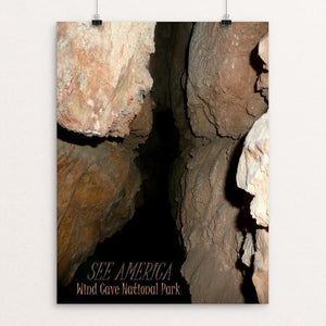 "Wind Cave National Park by Bryan Bromstrup 12"" by 16"" Print / Unframed Print See America"