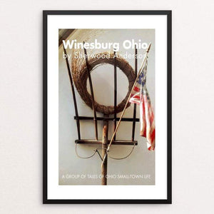 "Winesburg Ohio by Bob Rubin 12"" by 18"" Print / Framed Print Recovering the Classics"