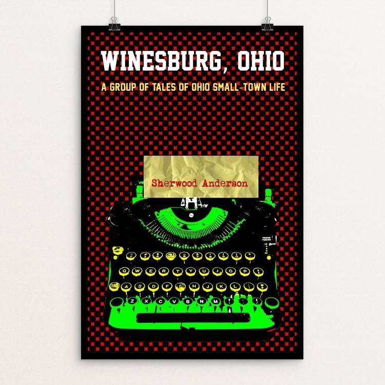 "Winesburg Ohio by Bob Rubin 12"" by 18"" Print / Unframed Print Recovering the Classics"