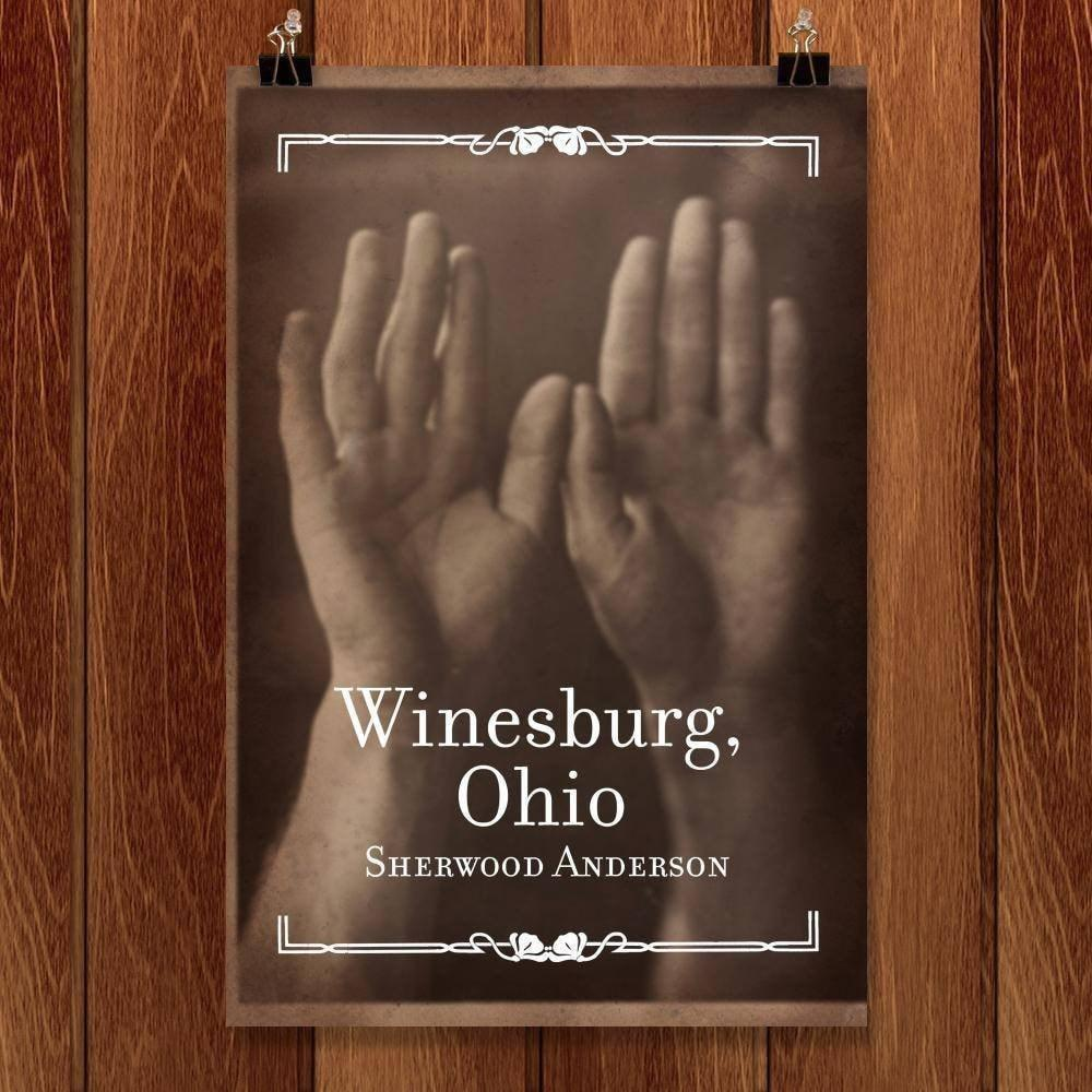 "Winesburg Ohio by Matt Hinrichs 12"" by 18"" Print / Unframed Print Recovering the Classics"