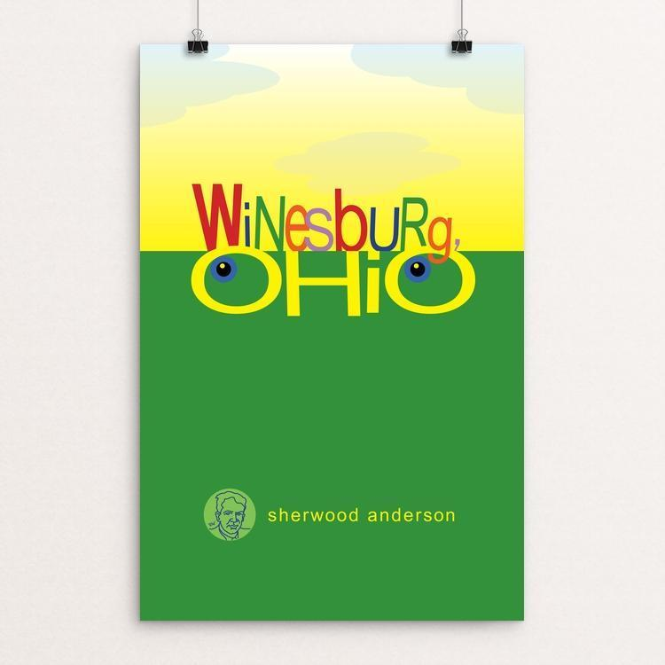 "Winesburg. Ohio by Robert Wallman 12"" by 18"" Print / Unframed Print Recovering the Classics"