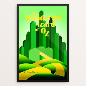 "Wizard of Oz 1 by Julie Jirovec 12"" by 18"" Print / Framed Print Recovering the Classics"