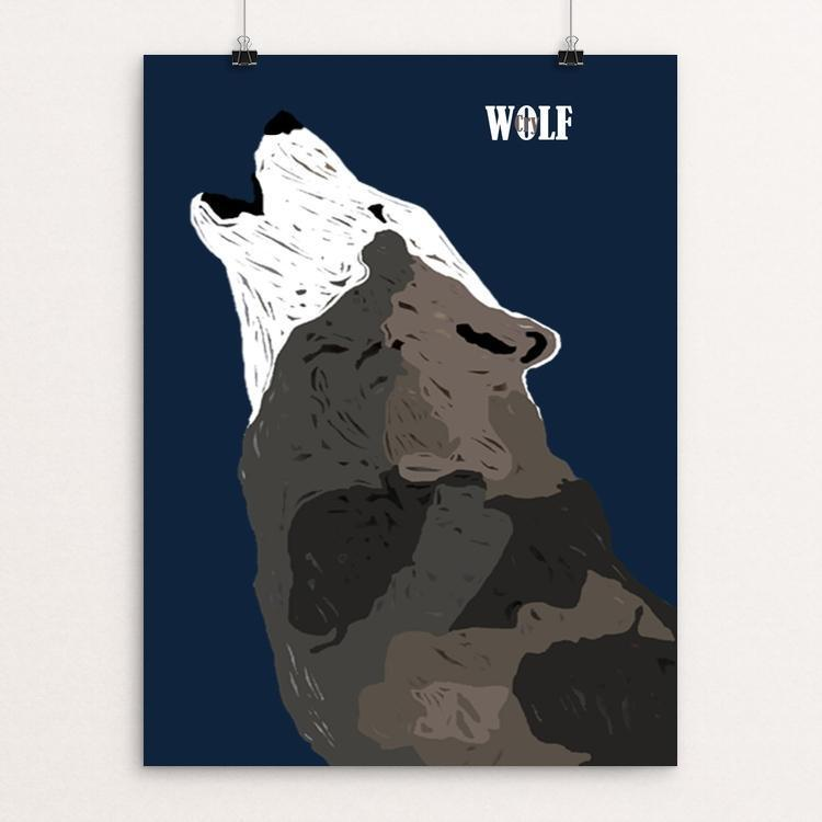 "Wolf Cry by Bryan Bromstrup 18"" by 24"" Print / Unframed Print Join the Pack"