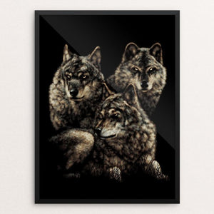 Wolves by Peter Bowen