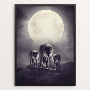 Wolves of the moon by Charlliee Dawnson