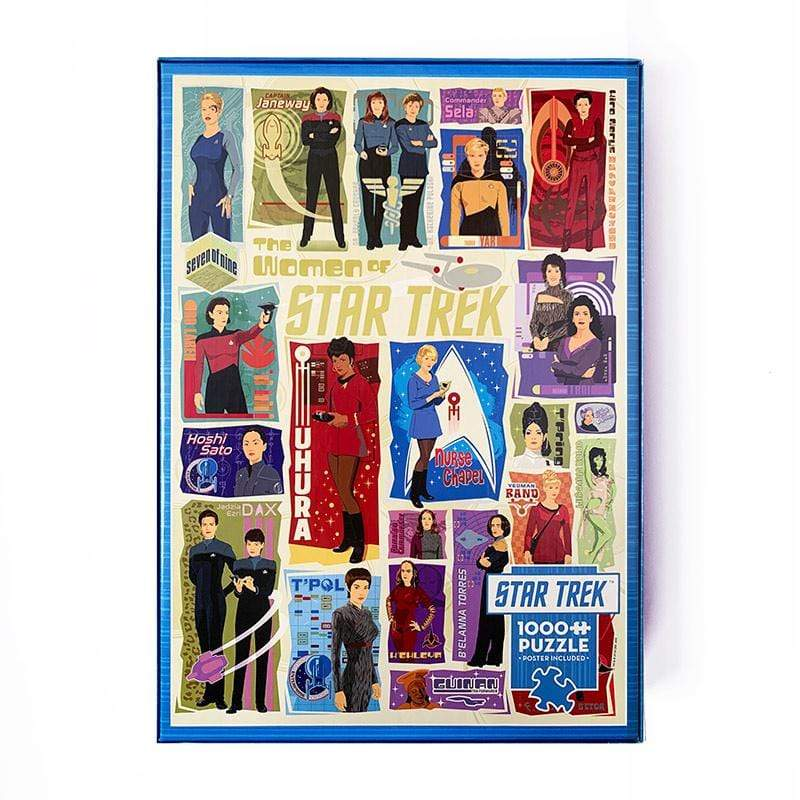 Women of Star Trek Jigsaw Puzzle Puzzle Creative Action Network
