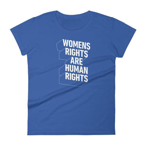 Womens Rights T-Shirt by Laura Jansen Strohbusch S / Women's / Blue T-Shirt What Makes America Great