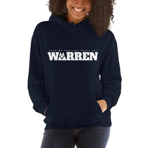 Working Families Party for Warren Hoodie by Kevin 'afroCHuBBZ' Banatte S / Black Hoodie Working Families P(ART)Y