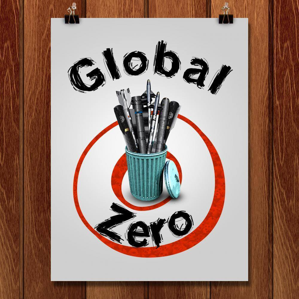 "World Zero by Vikram Nongmaithem 18"" by 24"" Print / Unframed Print Demand Zero"