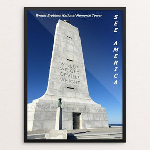 "Wright Brothers National Memorial 1 by Bryan Bromstrup 12"" by 16"" Print / Framed Print See America"