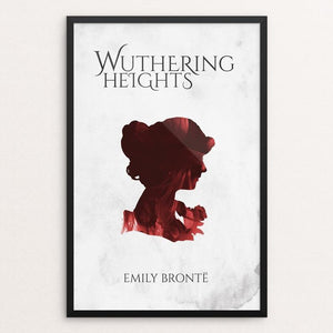 "Wuthering Heights by Josh Frederick 12"" by 18"" Print / Framed Print Recovering the Classics"