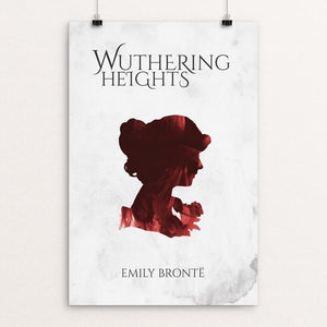 "Wuthering Heights by Josh Frederick 12"" by 18"" Print / Unframed Print Recovering the Classics"