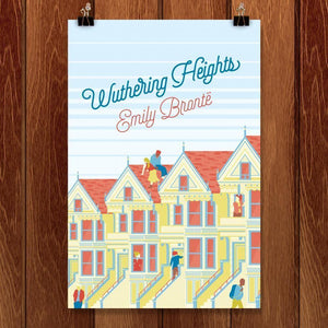 "Wuthering Heights by Karl Orozco 12"" by 18"" Print / Unframed Print Recovering the Classics"