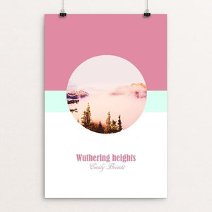 "Wuthering Heights by Kassandra Black 12"" by 18"" Print / Unframed Print Recovering the Classics"