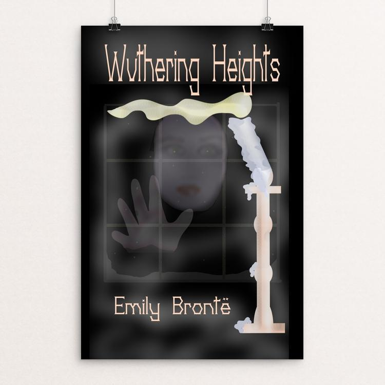 "Wuthering Heights by Margo Alexander 12"" by 18"" Print / Unframed Print Recovering the Classics"