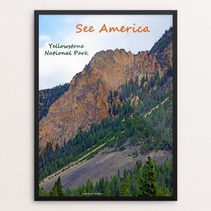 "Yellowstone National Park 3 by Anthony Chiffolo 12"" by 16"" Print / Framed Print See America"
