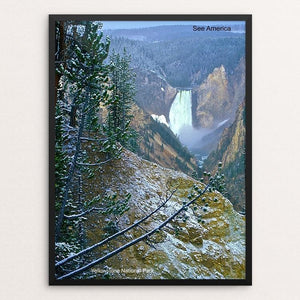 "Yellowstone National Park 3 by Vito Marrone 12"" by 16"" Print / Framed Print See America"