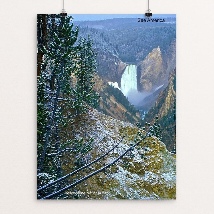 "Yellowstone National Park 3 by Vito Marrone 12"" by 16"" Print / Unframed Print See America"