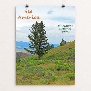 "Yellowstone National Park 7 by Anthony Chiffolo 12"" by 16"" Print / Unframed Print See America"