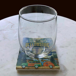 Yellowstone National Park Coaster by Chris England Coaster See America