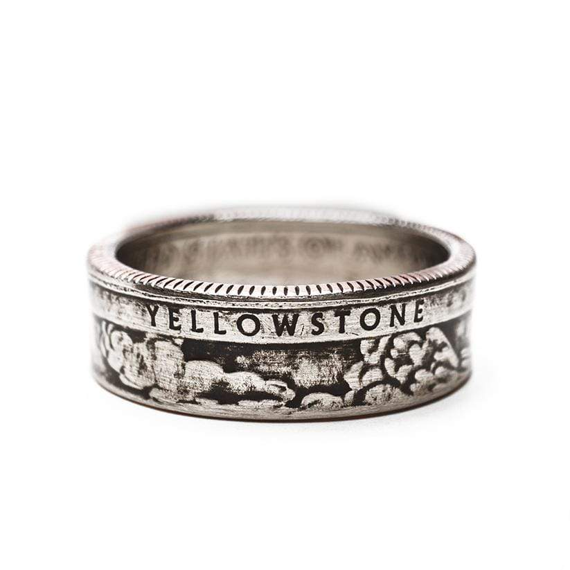 Yellowstone National Park Coin Ring Ring See America