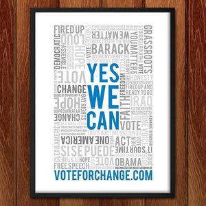 Yes We Can - Vote For Change by Kevin J. Furst