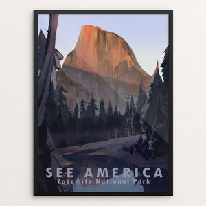 "Yosemite National Park by Alyssa Winans 12"" by 16"" Print / Framed Print See America"