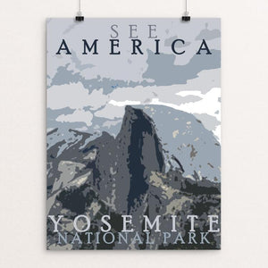"Yosemite National Park by Amanda Pulawski 12"" by 16"" Print / Unframed Print See America"