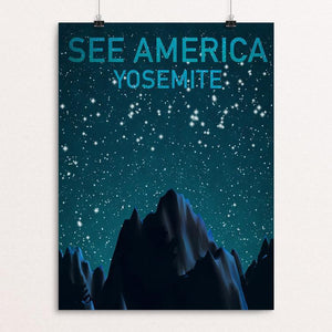 "Yosemite National Park by Victor Wei 18"" by 24"" Print / Unframed Print See America"