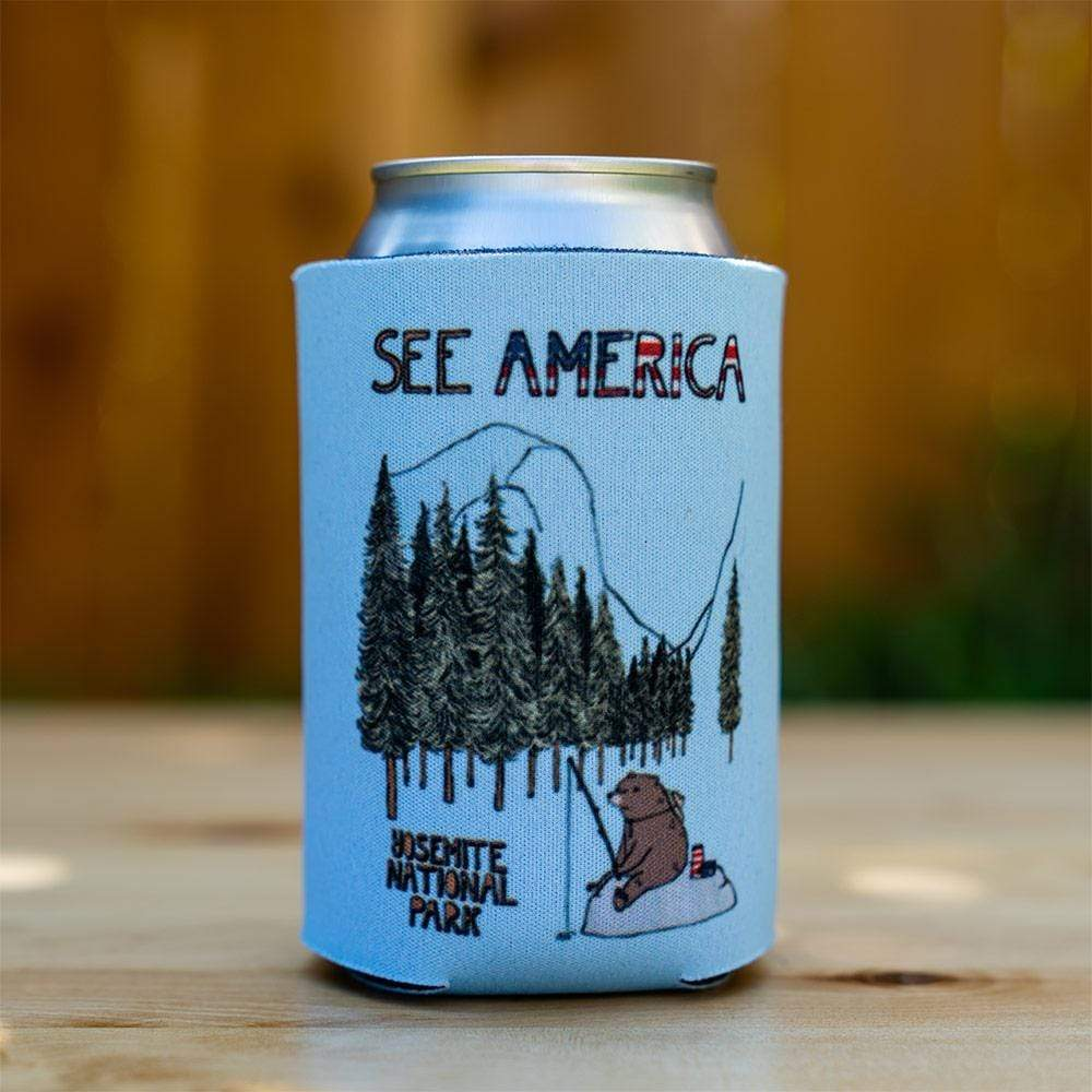 Yosemite National Park Koozie by Naomi Sloman