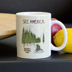 Yosemite National Park Mug by Naomi Sloman 11oz Mug See America