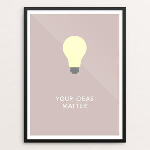 Your Ideas Matter by Blair Strong