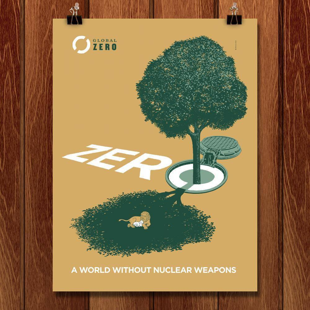 "Zero by Brixton Doyle 18"" by 24"" Print / Unframed Print Demand Zero"