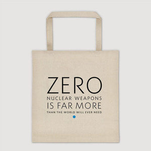 Zero Is More Than We Need Tote Bag by Chris Lozos Tote Bag Demand Zero