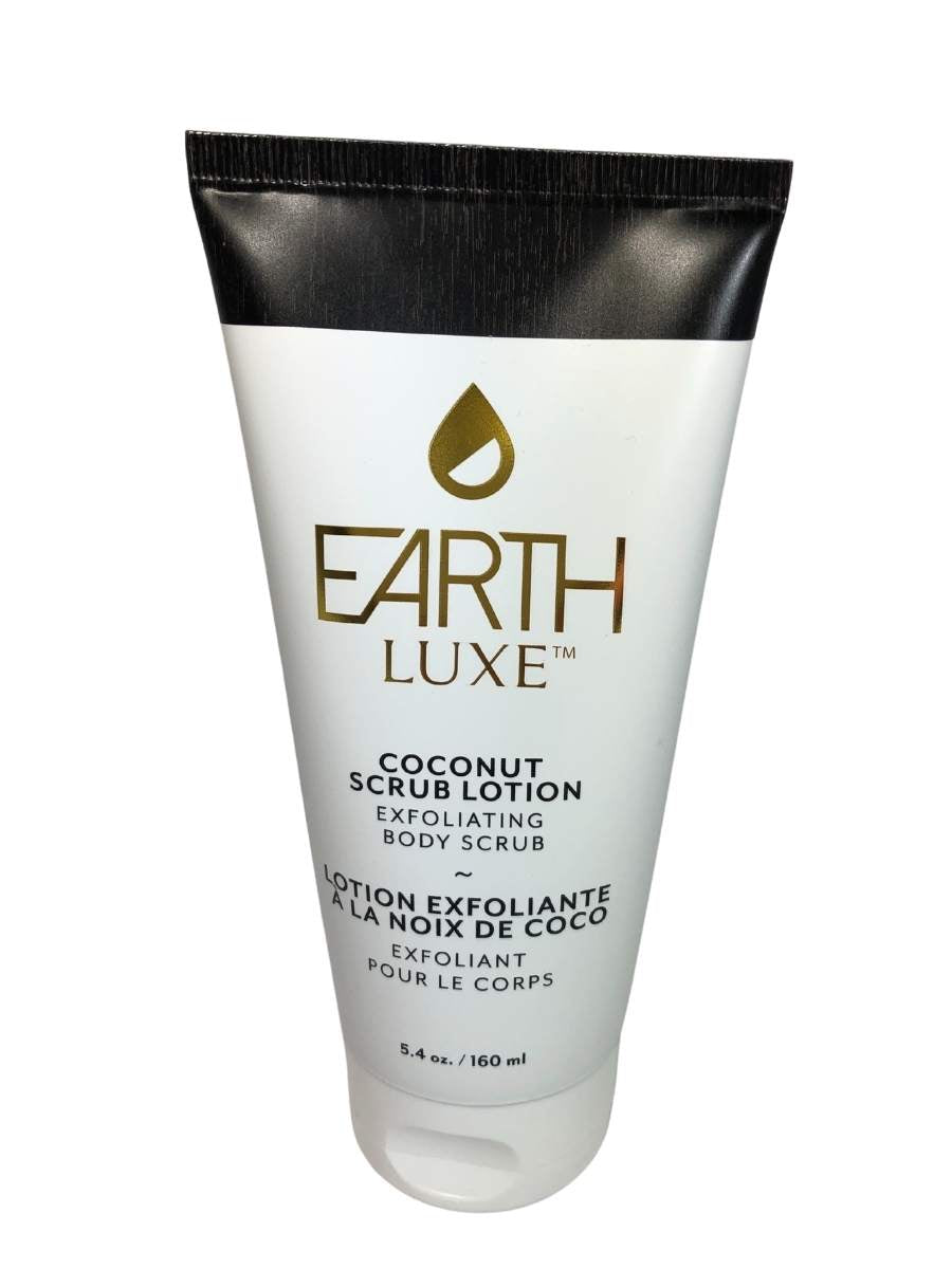 EARTH LUXE COCONUT SCRUB LOTION