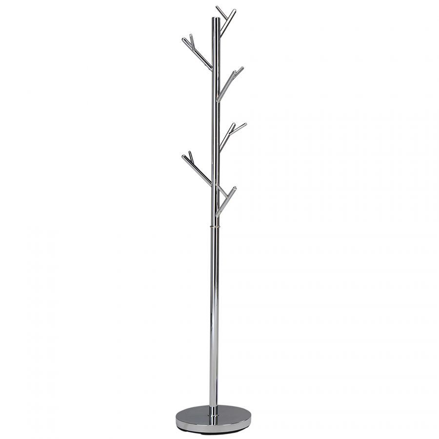 CHROME TREE COAT RACK